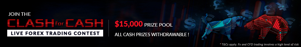 JOIN THE CLASH FOR CASH - NEW FOREX TRADING CONTEST-  PRIZE POOL OF $15,000!!!